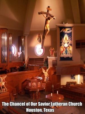 Chancel of Our Savior Lutheran Church, Houston, TX