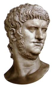 Nero ruled 54-68 A.D. (before his first shave?)