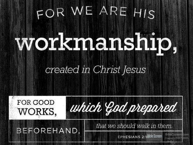 Picture Quote On Ephesianns 210 Niv: Martin Chemnitz On Good Works