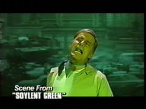 "Charlton Heston in ""Soylent Green"""