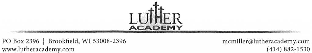 LutherAcademyLetterhead