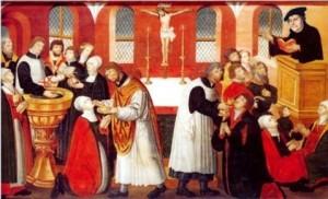 Luther i Torslunde Kirke 15cm