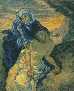 Pieta (after Delacroix), Van Gogh