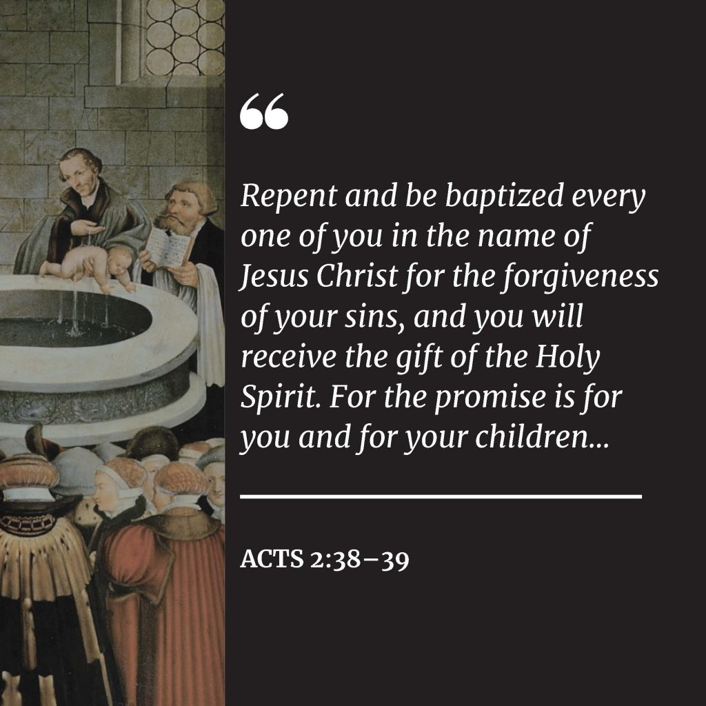 2021 Lent Devotions Released - Holy Baptism